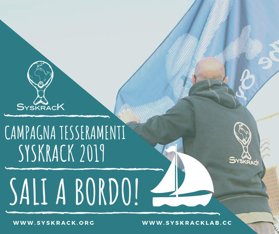 Syskrack - Tesseramenti 2019